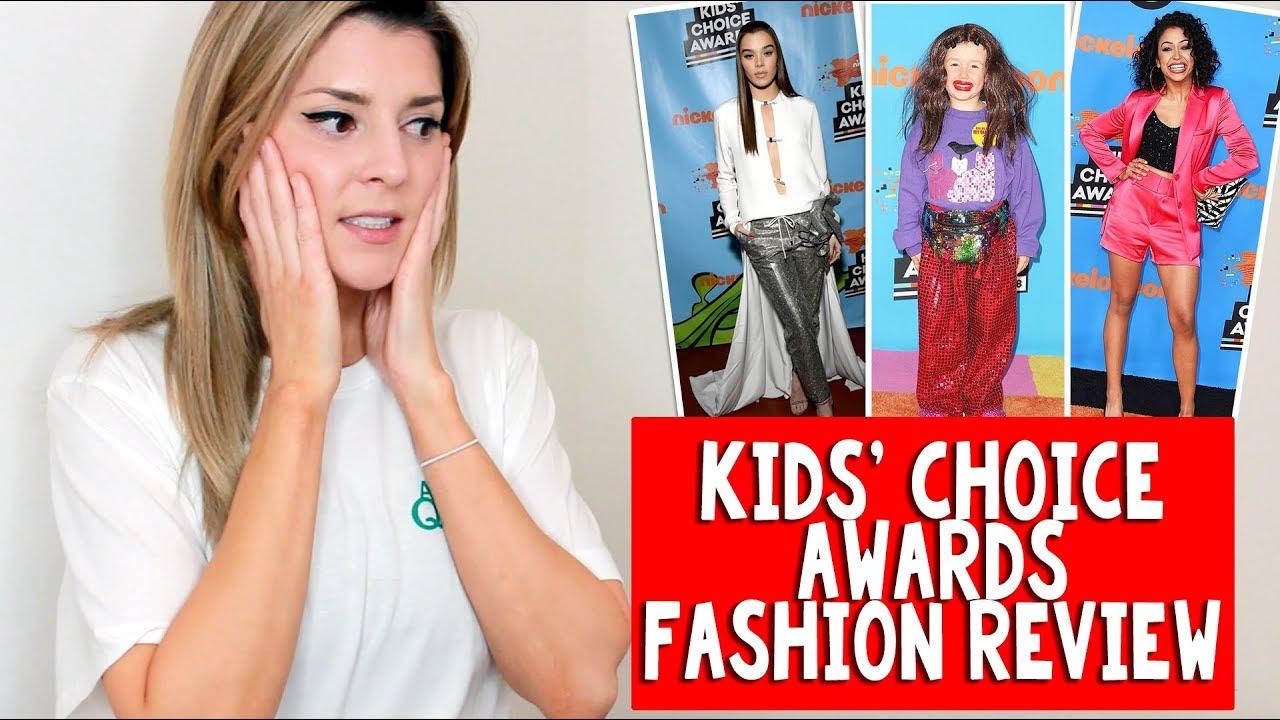 KIDS\u002639; CHOICE AWARDS FASHION REVIEW \/\/ Grace Helbig  YouTube