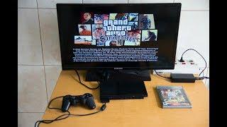 Игровая приставка Sony Playstation 2 SCPH-70004 (sn FC2050159)