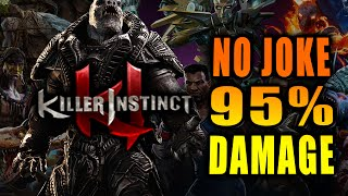 vuclip 95% IN A REAL MATCH: General Raam - Killer Instinct Online Matches
