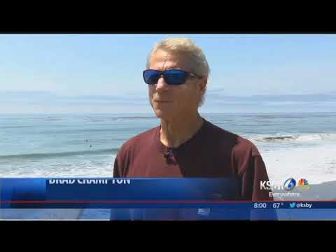 Memorial forms for 19-year-old who died in Cambria surfing accident