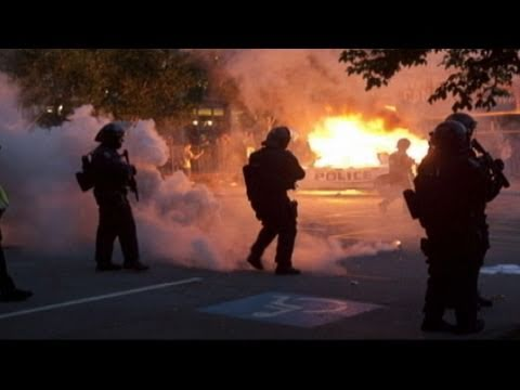 Vancouver Riots 2011: Destruction After Boston Bruins Win Stanley Cup