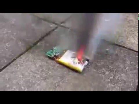 リチウムイオン電池の爆発 劣化 損傷 発火 携帯