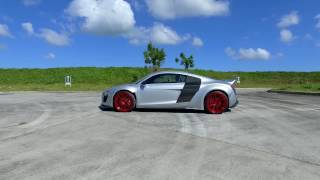 Car Porn Racing builds a Liberty Walk R8