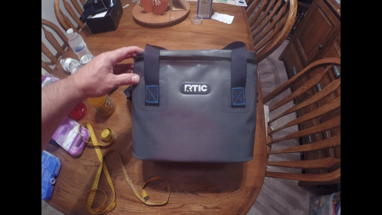 Rtic Lunch Box Softpak Cooler With Arctic Ice Packs