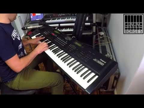 ROLAND JV1000 - Checking the Sound