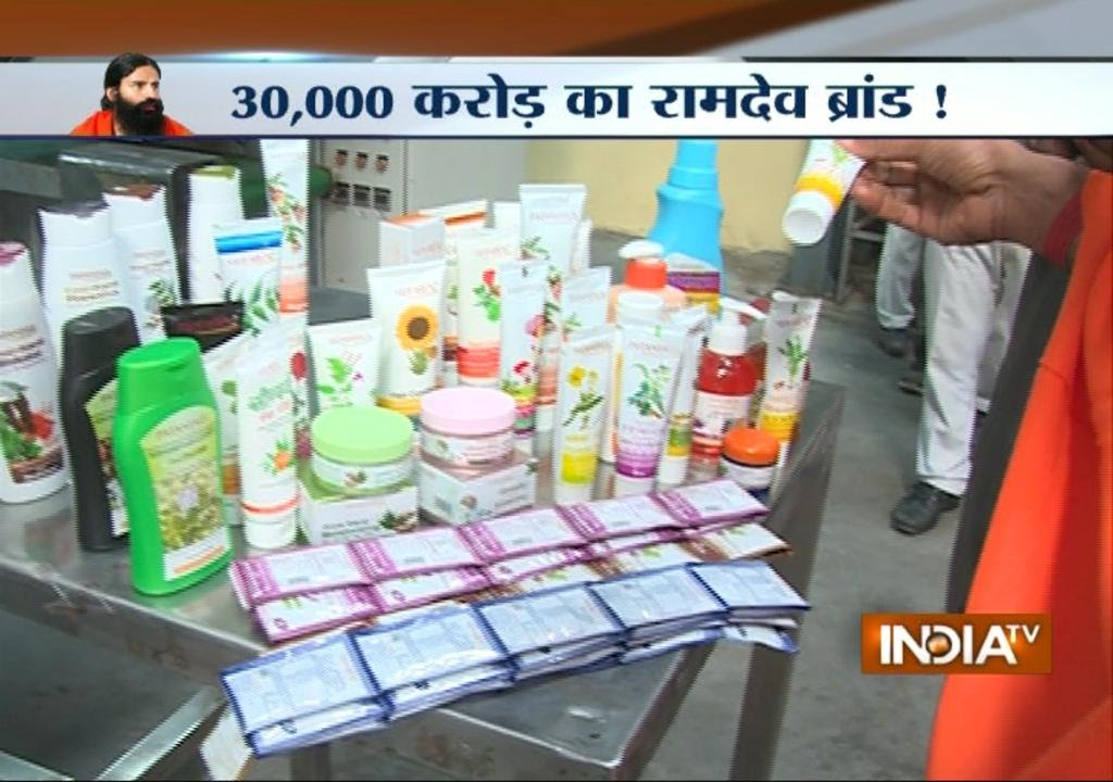 Patanjali Ayurved: Baba Ramdev's Super Brand - India TV