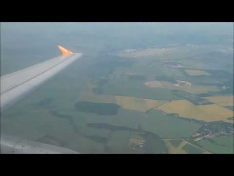EasyJet Airbus A319-111 G-EZAL London Stansted to Asturias! *Full Flight*