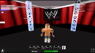 WWE Roblox: John Cena Confronts CM Punk