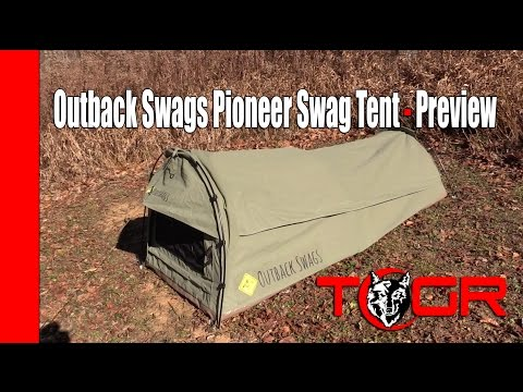 Does It Leak? - Outback Swags Pioneer Swag Tent - Preview