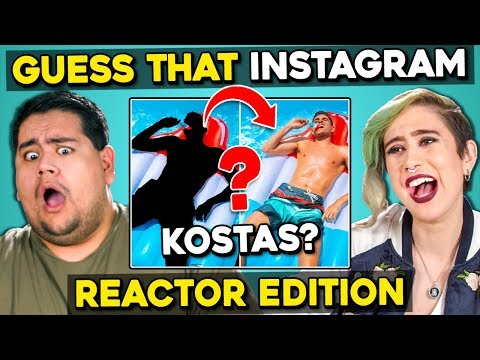 Can YOU Guess That Reactor's Instagram?   FBE Staff React