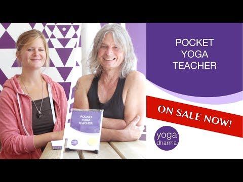 On Sale Now: Pocket Yoga Teacher   YOGA DHARMA