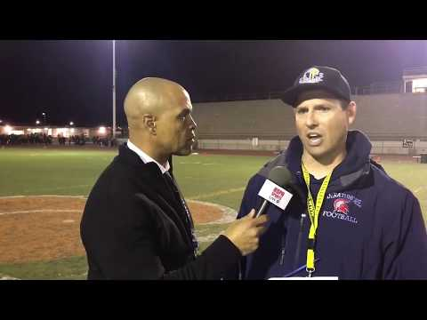 POST GAME INTERVIEW Head Coach Jeromy Blackwell Strathmore HS CIF 6AA STATE CHAMPIONS