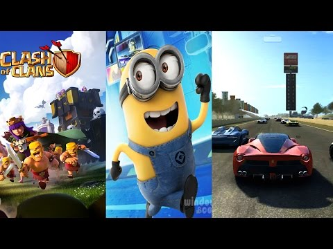 10 MOST DOWNLOADED Android/iOS Games