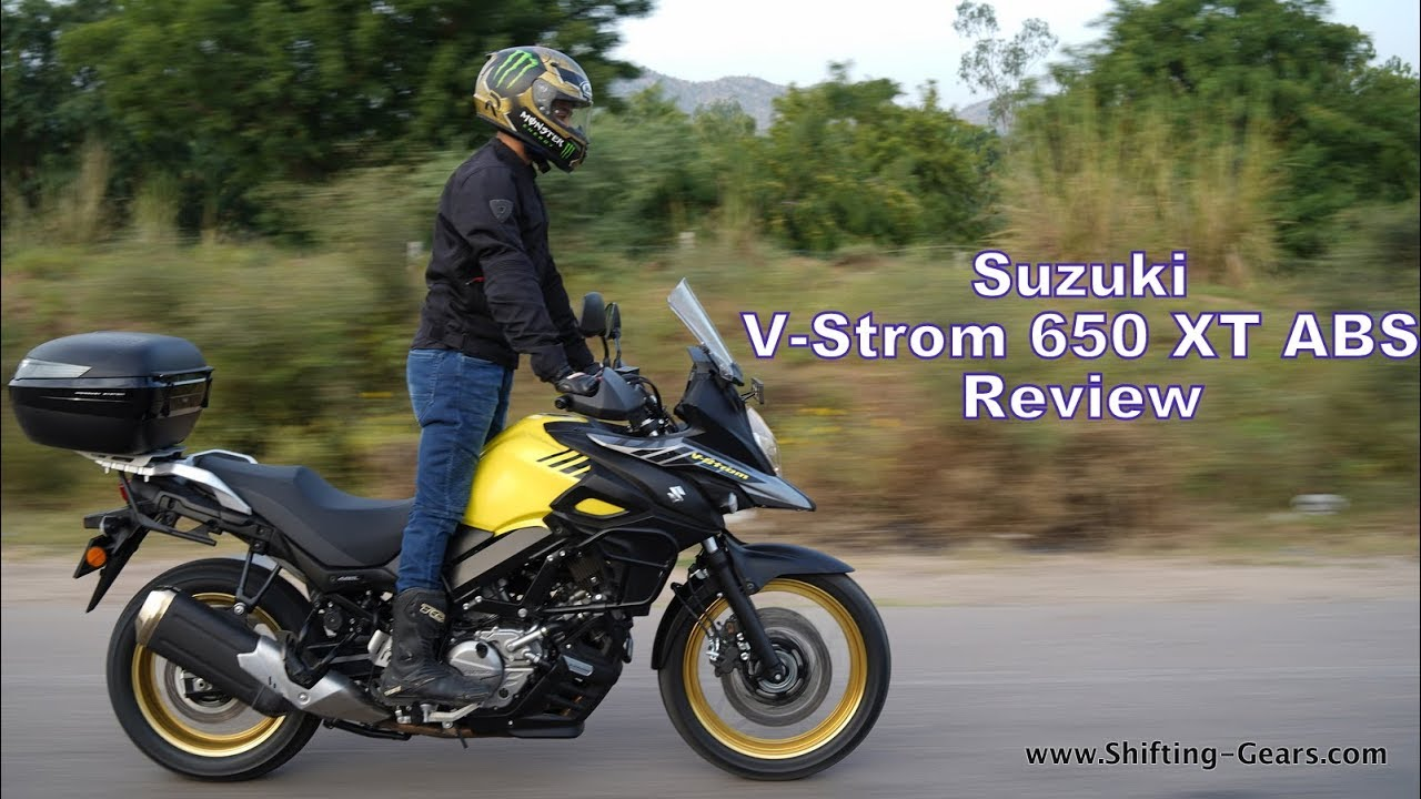 2018 suzuki v strom 650 xt abs review in india hinglish. Black Bedroom Furniture Sets. Home Design Ideas