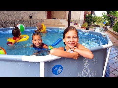 Вопрос: Можно ли в бассейне, где плавали лягушки, купать детей?