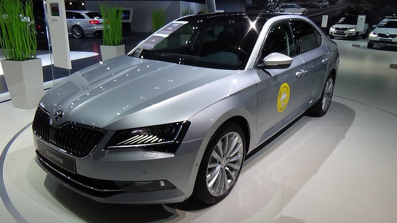 2016 skoda superb style 1 4 tsi act exterior and interior auto show brussels 2016 youtube. Black Bedroom Furniture Sets. Home Design Ideas