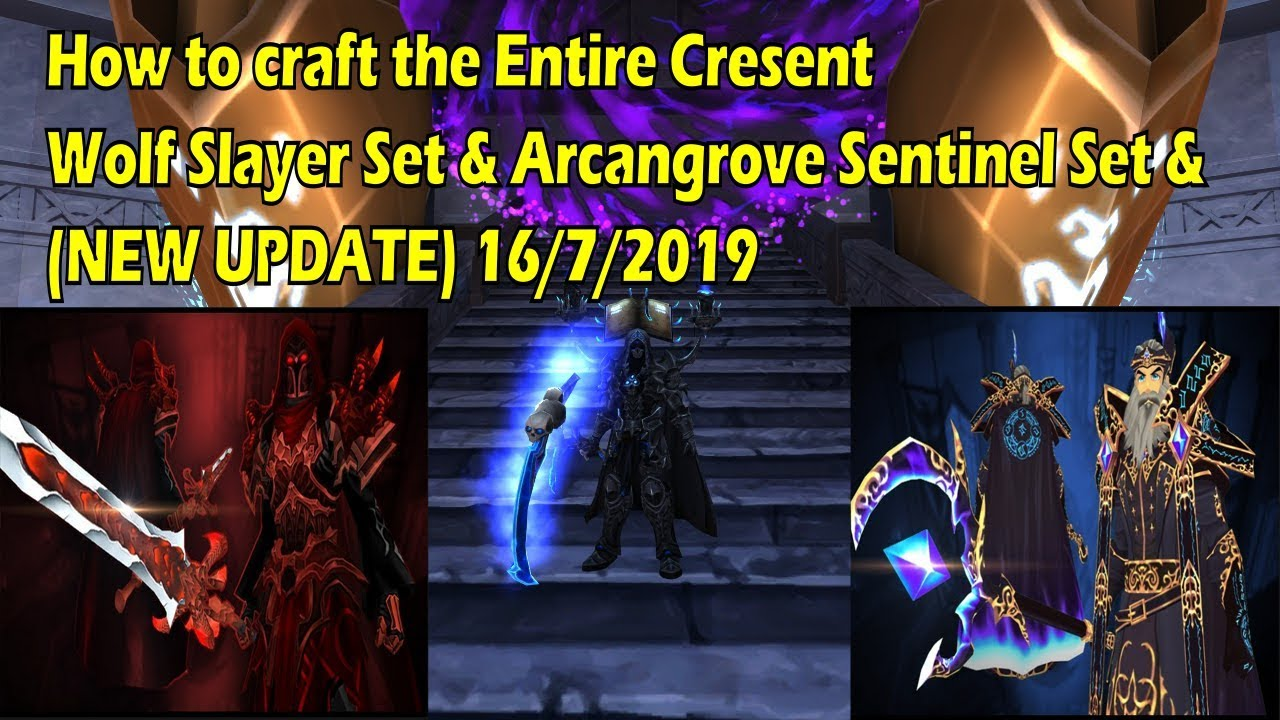 AQ3D - How to Get Arcangrove Sets & NEW Updates!! :)