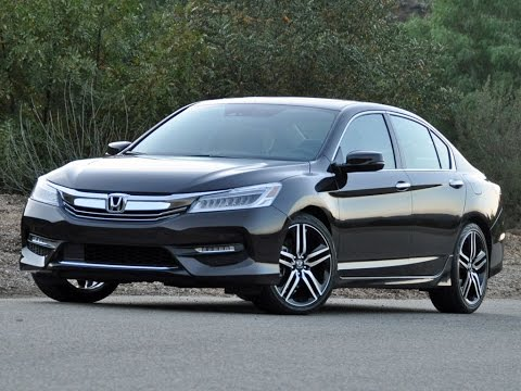 2016 2017 Honda Accord Touring V6 Sedan Review Tutorial