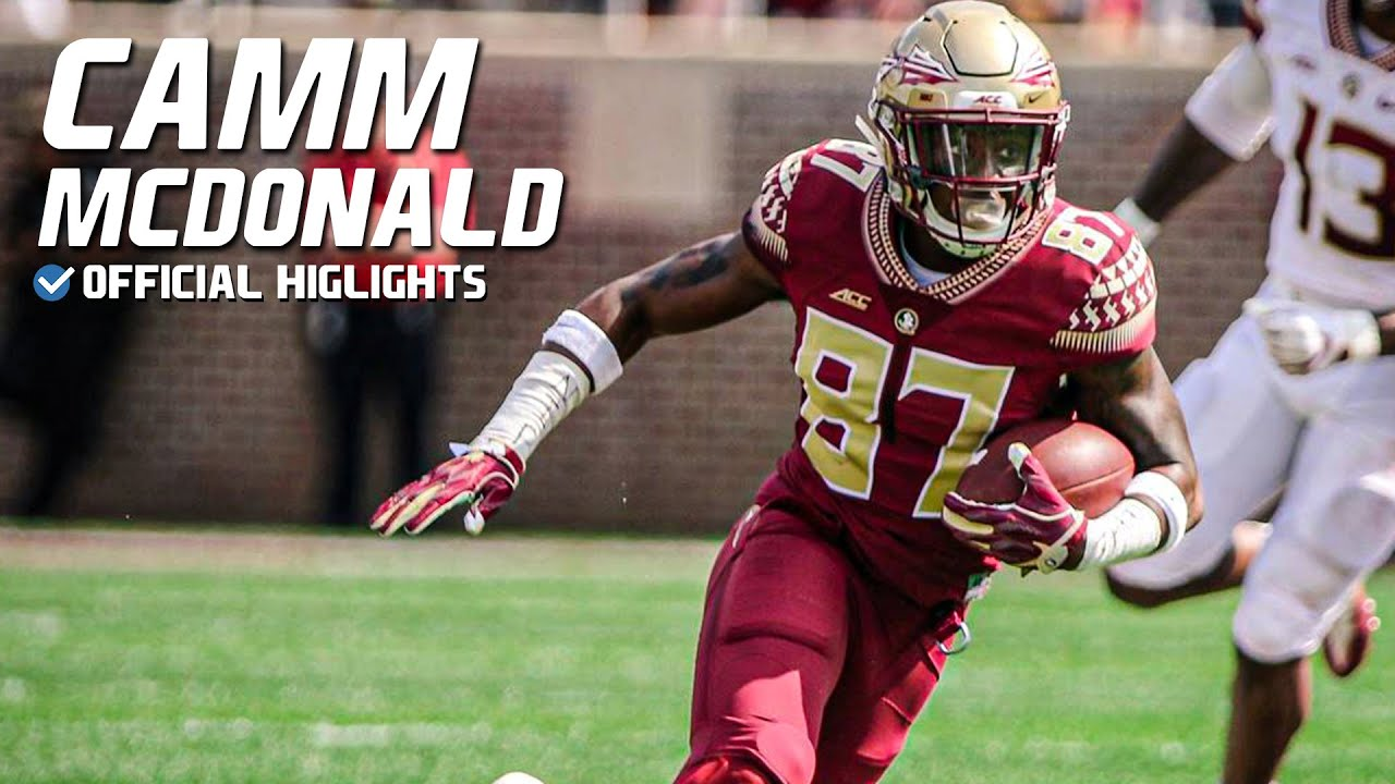 "Camm McDonald Florida State Highlights | ""Redman"" ᴴᴰ"