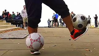 Football Freestyle: Steve Elias - 2 ball master