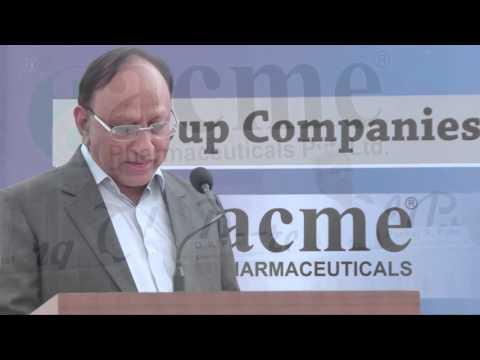 Acme Pharmaceuticals Pvt. Ltd. , Sanand, Gujarat . P1