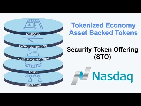 Future of Crypto - Asset Backed Tokens / Security Token Offering STO - Token Economy - Nasdaq STO