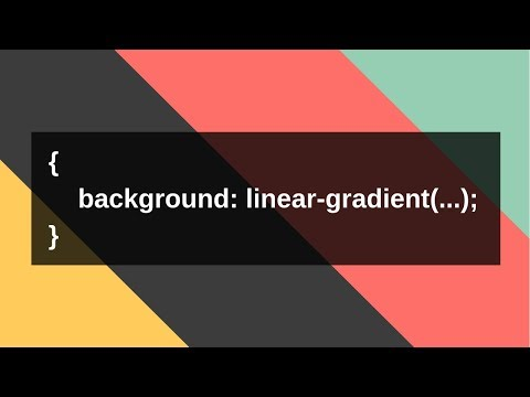 Colorful Background With Linear-gradient