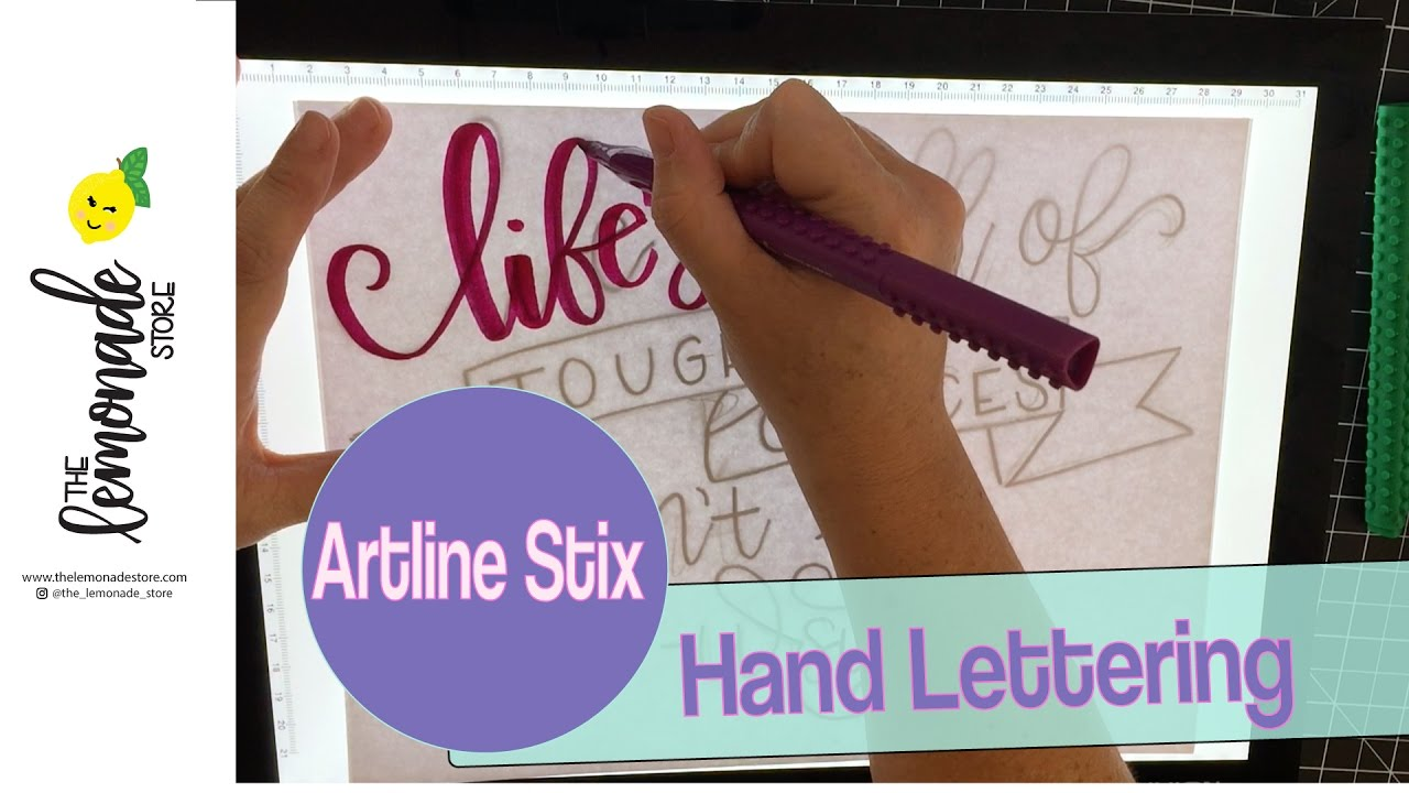 Artline : Lettering with artline stix markers little mermaid quote hand
