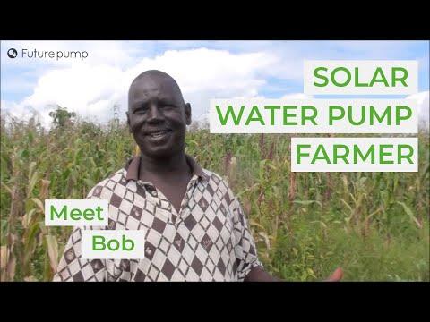 Meet Bob Ouma - A Futurepump Solar Pump Customer From Ndbiwa, Kenya