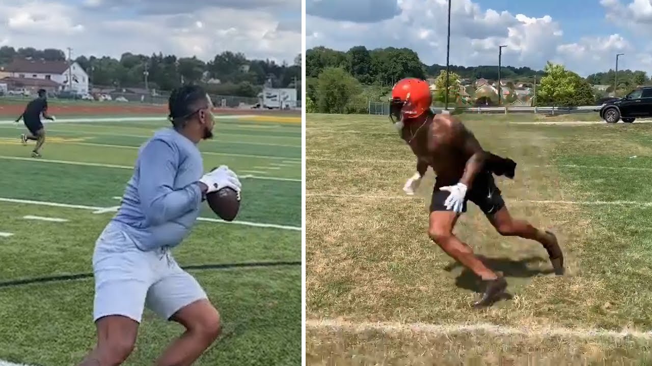 Terrelle Pryor Shows QB & WR Skills, Staying Ready For NFL Opportunity