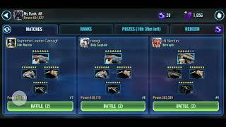 Fleet Arena g13 Rebel fleet vs Negotiator + HT