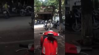 Lạng Sơn: Biến căng, hàng loạt xe máy để dưới lề đường Nguyễn Thái Học bị hốt về đồn