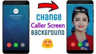 Change Caller Screen Background On Any Xiaomi Devices !! 😊😊