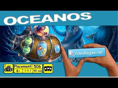 """La vidéorègle du jeu """" Oceanos """" par Yahndrev (#506)(+sub)"""
