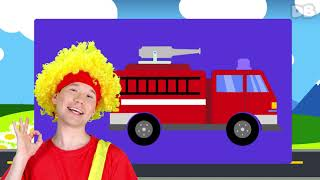 🚒 Firefighter rescue a little girl    D Billions Kids Songs
