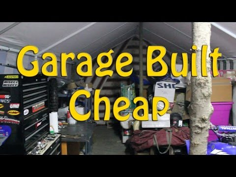 Building The Harbor Freight Portable Garage Part 2