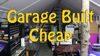 Garage Built Cheap