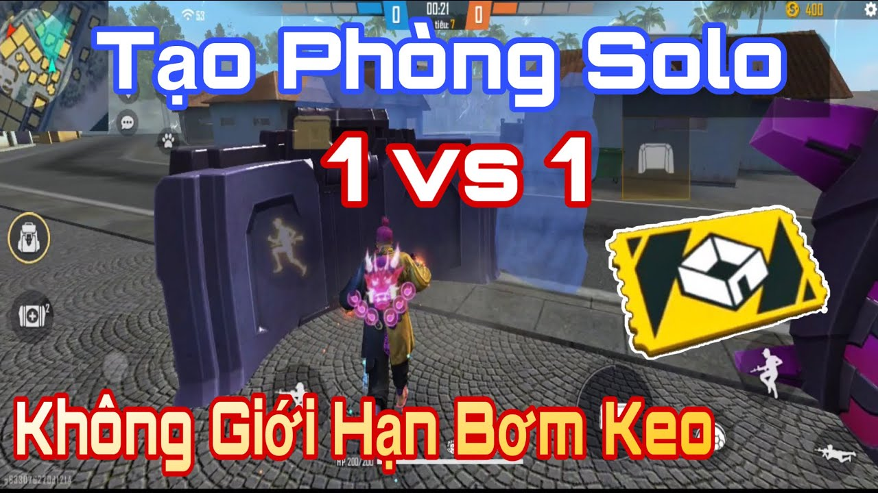 Cách Tạo Phòng Solo 1 vs 1 Free Fire Không Giới Hạn Bơm Keo | Gàng Nguyễn Gaming ( cách tạo phòng ) | Bao quát những tài liệu liên quan cách tạo phòng free fire mới cập nhật