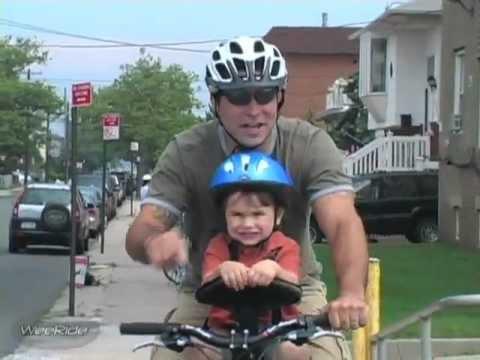 Лучшее детское переднее велокресло из КАНАДЫ!