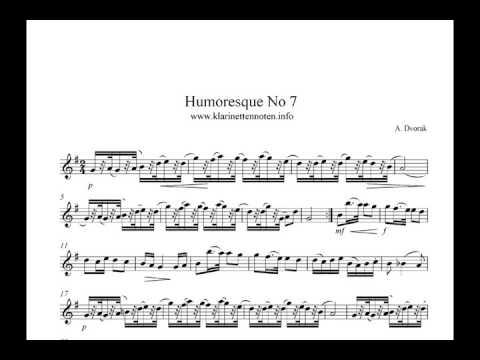 Humoresque No7  Dvorak