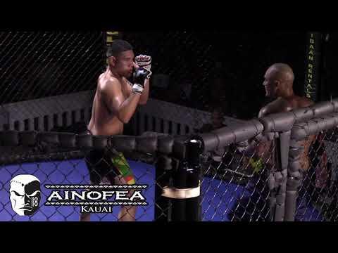 2 Alfonso Pitolo vs Malcolm Smallman Kaapu Brown : MMA Hawaii