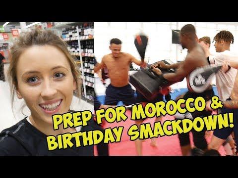 LAST PREP FOR MOROCCO | BIRTHDAY SMACKDOWN!!! | JADE JONES VLOG