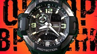 G-SHOCK GA-1000-1B | Обзор и настройка (на русском) | Купить со скидкой