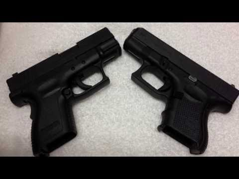 Glock 27 Gen4 vs. Springfield Armory XD-40 Subcompact