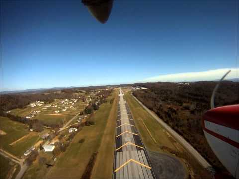 Landing at Greeneville Tennessee