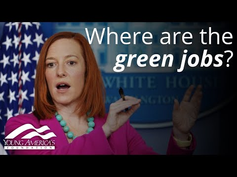 Where Are The Green Jobs? Jen Psaki Can't Answer Simple Question About American Energy Workers
