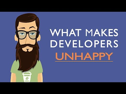 What Makes Developers Unhappy