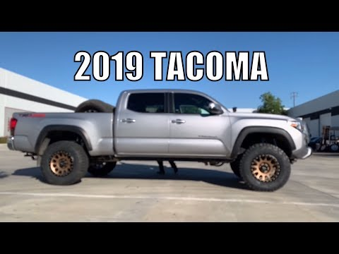 2019 Toyota Tacoma,  King Suspension Lift Lightbar & TRD Pro Grille