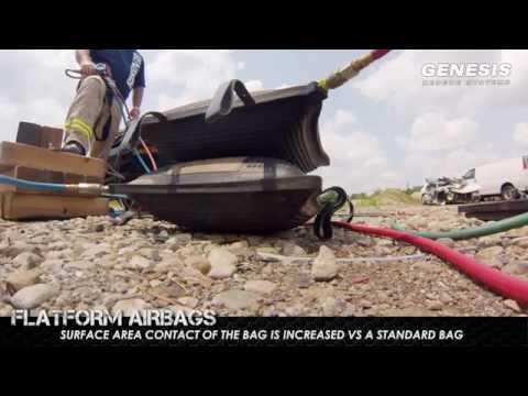 High Pressure Airbags | Vehicle Stabilization | Genesis Rescue