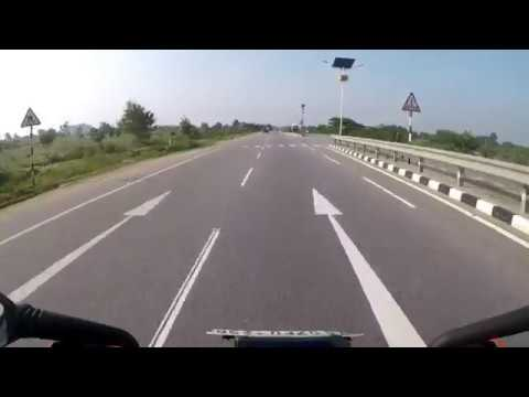 Hyderabad To Bangalore Solo Ride - 590 KM Open Highway